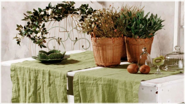 G/én/érique Runner da tavola vegetale Taglia Unica